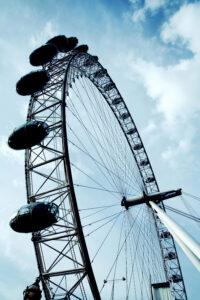 Vertigo and dizziness can feel like the environment is spinning: photo of Ferris wheel