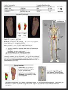 Joint mobilization of the foot